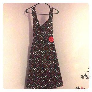 Other - Juniors polka dot dress + cardigan